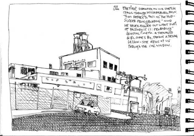 Sketchcrawl survivor