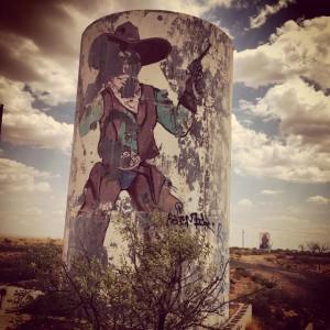 A lonesome cowboy.