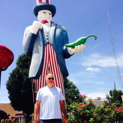 Hatch, NM, the green chile capital of America.