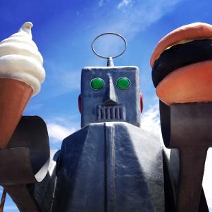 Robots rule Hatch. Beep.