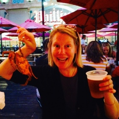 Crabs! In Baltimore.