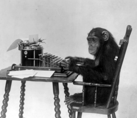 monkey-typewriter